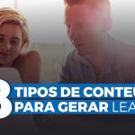 tipos de conteúdo geração de leads