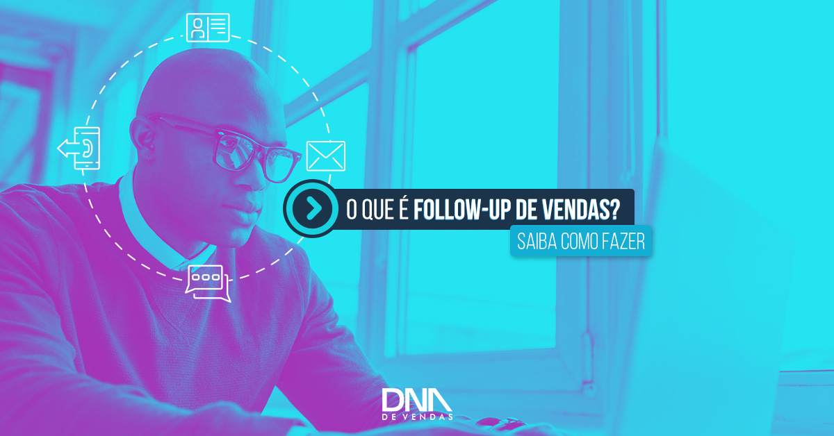 follow-up de vendas